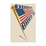 Obama-Biden '08 11x17 USA Flag Poster