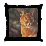 """Morning Chill"" Throw Pillow"
