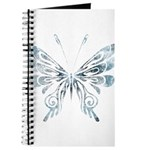 Blue Tribal Butterfly Tattoo Journal