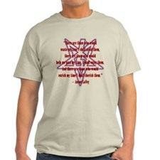 LaVey Worthiness Quote Tee (Light)