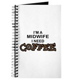 Midwife Need Coffee Journal