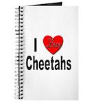 I Love Cheetahs for Cheetah Lovers Journal