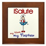 I Salute My Nephew 1 Framed Tile