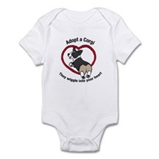 Unique Corgi rescue Infant Bodysuit
