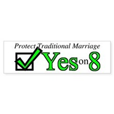 Yes on 8 Bumper Sticker (10 pk)