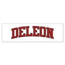 DELEON Design Bumper Bumper Sticker