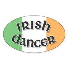 Tricolor Irish Dancer Decal