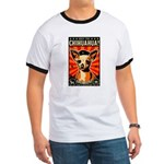 Obey the Chihuahua! Revolution Ringer T