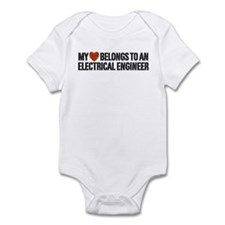 My Heart Belongs to an Electrical Engineer Onesie