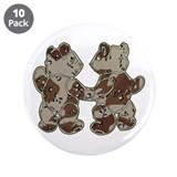 "Kid Bears Desert Camo 3.5"" Button (10 pack)"