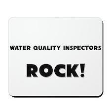 Water Quality Inspectors ROCK Mousepad