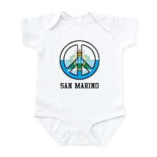 Peace In San Marino Infant Bodysuit