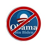 "No BO bin Biden 3.5"" Button (100 pack)"