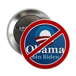 "No BO bin Biden 2.25"" Button (100 pack)"