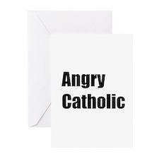 TheAngryCatholic Greeting Cards (Pk of 10)