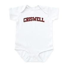 CRISWELL Design Infant Bodysuit