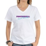 Professional Fuck Buddy Women's V-Neck T-Shirt