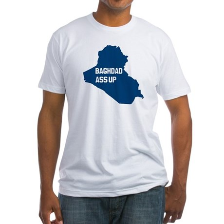 Baghdad Ass Up Fitted T-Shirt