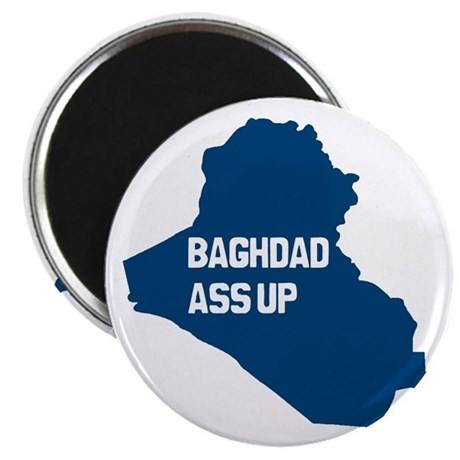Baghdad Ass Up Magnet