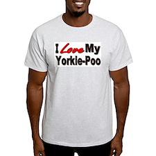 I Love My Yorkie-Poo T-Shirt