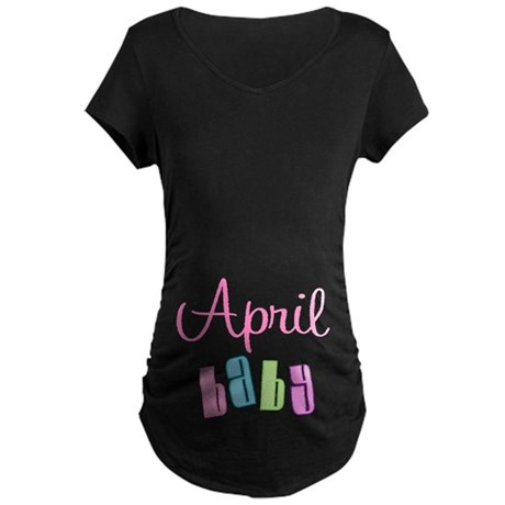 April Baby Maternity Dark T-Shirt