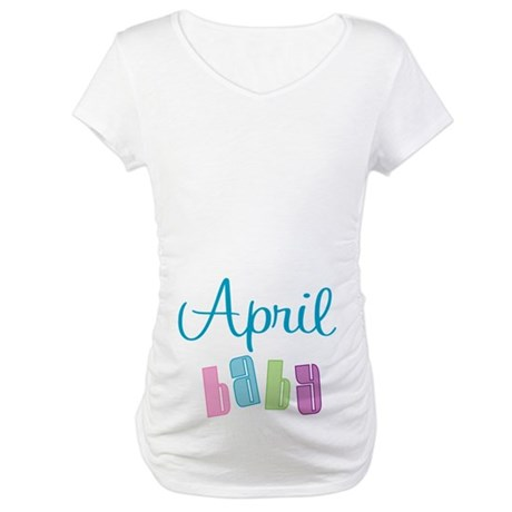 April Baby Maternity T-Shirt