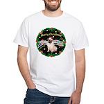 XmasMusic2MC/ Pug 11 White T-Shirt