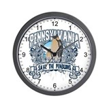 Save the Penguin Pennsylvania Wall Clock