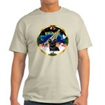 XmasSunrise/ Skye Terrier Light T-Shirt