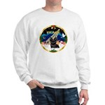 XmasSunrise/ Skye Terrier Sweatshirt