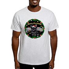 XmasMusic2/Skye Terrier T-Shirt