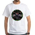 XmasMusic2/Skye Terrier White T-Shirt