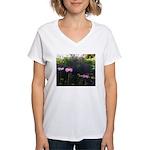Ginger Hawver Women's V-Neck T-Shirt