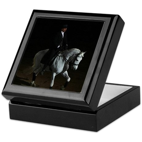Dressage Spotlight Keepsake Box