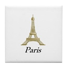 Eiffel Tower 1 Tile Coaster