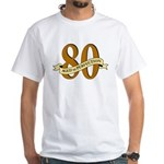 Aged to Perfection 80th Birthday T-Shirt