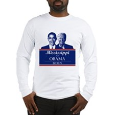 Mississippi for Obama Long Sleeve T-Shirt