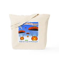 Jumpin' Jack's Sky Diving School Tote Bag