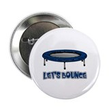 "Let's Bounce Trampoline 2.25"" Button (10 pack)"