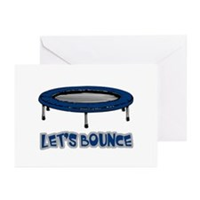 Let's Bounce Trampoline Greeting Cards (Pk of 10)