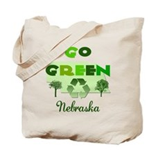 Go Green Nebraska Reusable Tote Bag