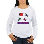 Let's Bounce Jacks (Jax) Women's Long Sleeve T-Shi