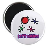 Let's Bounce Jacks (Jax) Magnet