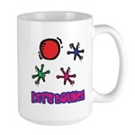 Let's Bounce Jacks (Jax) Large Mug