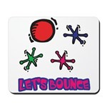 Let's Bounce Jacks (Jax) Mousepad