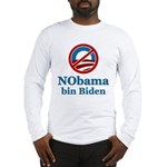 No BO bin Biden Long Sleeve T-Shirt