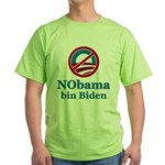 No BO bin Biden Green T-Shirt