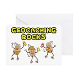 Geocaching Rocks Greeting Card