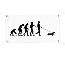 Dachshund Evolution Banner