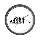 Chihuahua Evolution Wall Clock